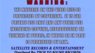 AVSEQ01 - VIDEOKE INTRO TECH TO SOUND WARNINGS