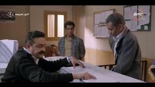 مشهد كوميدي لـ سيد رجب في القسم .. ( نسي بطاقته اللي رايح يضمن بيها ابنه ) #أبو_العروسة