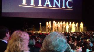 James Cameron's Speech at TITANIC 3D Premiere with Cast Royal Albert Hall