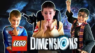 LEGO DIMENSIONS IN REAL LIFE - Scary Fun Kids Parody