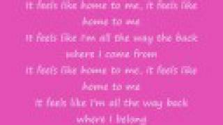 Feels Like Home by Chantal Kreviazuk (lyrics)