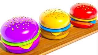 Learning Colors with Hamburgers