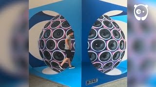 Mind-bending 3d illusions by Leon Keer
