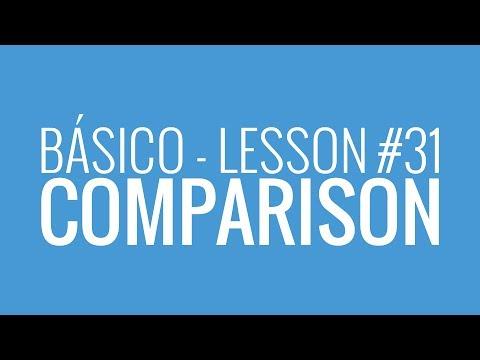 watch Básico #31: Making Comparisons - Inglês de Bolso
