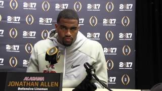 Media Day: National Championship Jonathan Allen