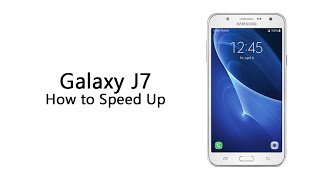 How to Speed Up the Samsung Galaxy J7