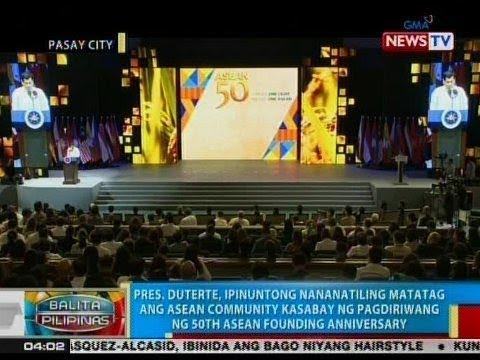 BP: Pres. Duterte, ipinuntong nananatiling matatag ang ASEAN Community