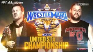 WWE WrestleMania 33 Match Card Full