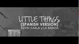 Little Things - One Direction (version espanish)