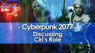 Discussing Ciri's Role in Cyberpunk 2077