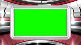 Virtual Set Frame - Fondo de video HD - chroma key