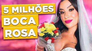 A FESTA DE 5 MILHÕES DA BOCA ROSA | Diva Depressão
