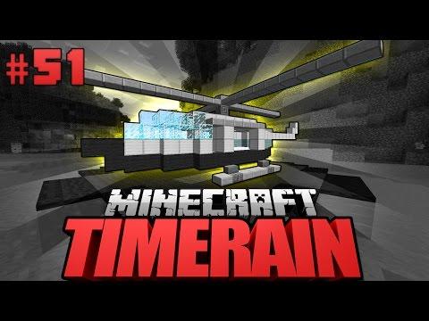 BULBOS HELIKOPTER Minecraft Timerain DeutschHD YTPak - Minecraft timerain spielen