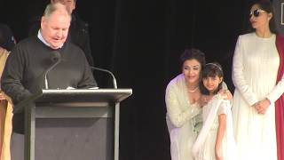 'Bollywood Beauty Aishwarya Rai reveals alot in Melbourne' 12/8/17 #EXCLUSIVE