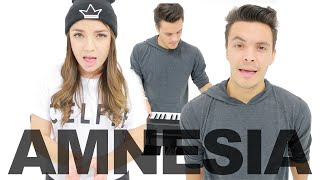 Amnesia - 5 Seconds Of Summer cover by Kait Weston & Danny Padilla