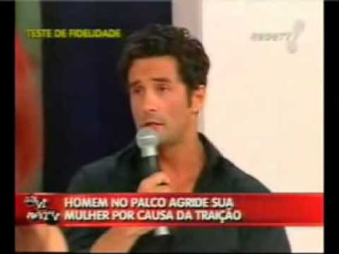 Marcos Oliver comeu a Mulher e Marido Corno discute no Teste de Fidelidade