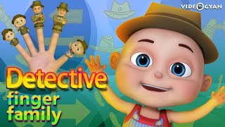 Detective Finger Family And Many More | Finger Family Collection | Nursery Rhymes Kids Songs