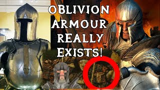 Is Oblivion Steel Set Actually Historically Accurate?
