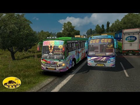 Xxx Mp4 RMS Calicut Bus Chasing CEE CEE With KBS Traffic Pack Game ETS2 3gp Sex