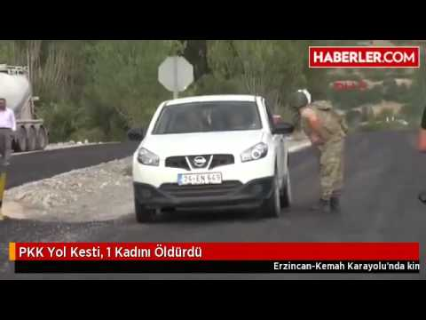 PKK Yol Kesti, 1 Kadını Öldürdü