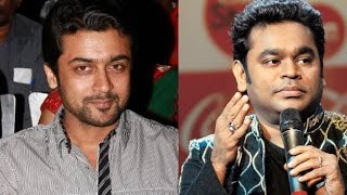 AR Rahman Starts Music Composition for Surya's '24'