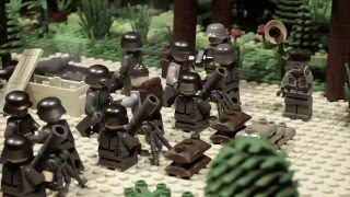 LEGO WW2 STOPMOTION Battle for Brest fortress