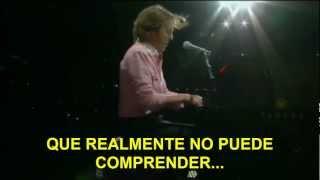 Paul McCartney- Maybe I'm Amazed (Subtitulada Español) (Zócalo México: 2012)