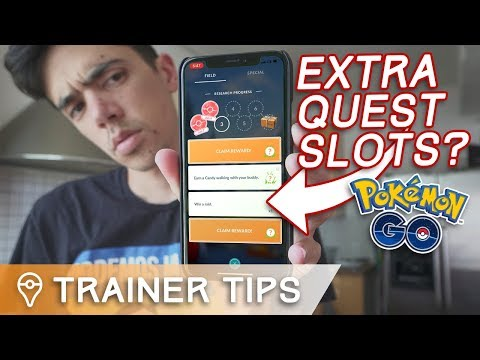 HOW I GOT 4 RESEARCH QUEST SLOTS IN POKÉMON GO