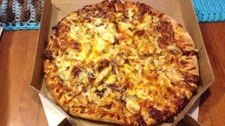 Review: Dominos Memphis BBQ Chicken Pizza
