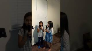 Me and my cousin sing magin trainer