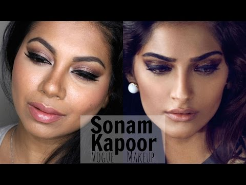 Sonam Kapoor Vogue India Makeup | MissBeautyAdikt