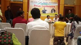 Atif Aslam's press conference in dhaka 29/05/2016