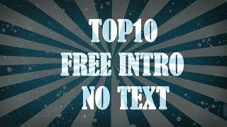 Top 10 Free Intro-uri Free+Link Download!