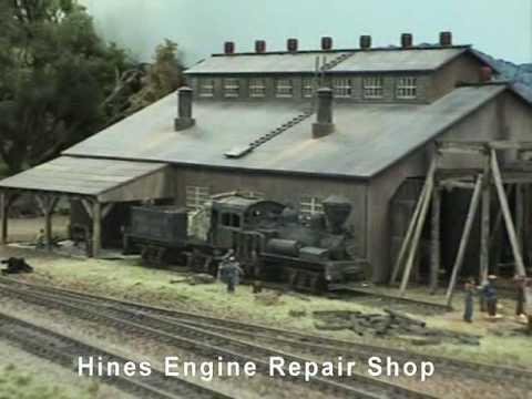 HO Model Railroad Hines Lumber Co