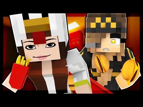 watch Minecraft McDonalds - CRAZY CUSTOMER GETS US FIRED!? (Minecraft Roleplay) #2