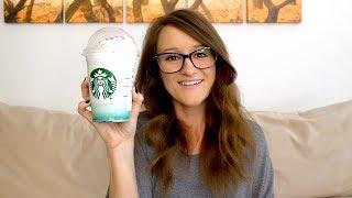 Starbucks Crystal Ball Frappuccino Taste Test!