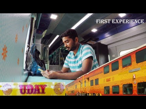 Xxx Mp4 UDAY First Experience Of India S Business Class Double Decker Train INTERIORS Included 3gp Sex