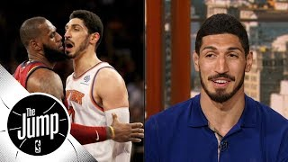 Enes Kanter reveals what he thought when he went face-to-face with LeBron James | The Jump | ESPN