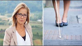 هذه المرأة تظاهرت بالعمى لمدة 28 عاماً .. والسبب غريب جدا ! سوف يصدمكم
