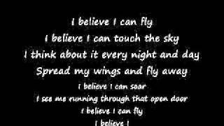 I Believe I Can Fly - R. Kelly - Lyrics