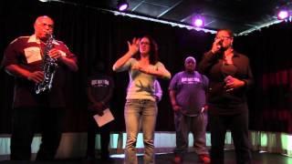 Deaf/Def Poetry Jam 2/20/2016 Lu Highsmith poetry with Emily Call intepreting