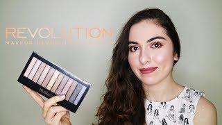 Ürün İnceleme   Makeup Revolution Iconic 1 Far Paleti İle Makyaj