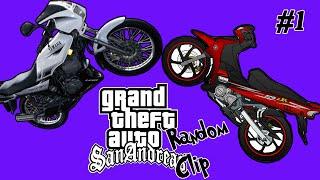 Kami mat motor - GTA SA (Random Clip) #1
