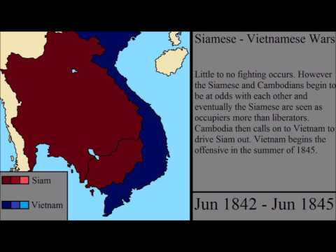 The Siamese - Vietnamese Wars: Every Month