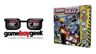 Robo Rally (2016 editon) with the Game Boy Geek