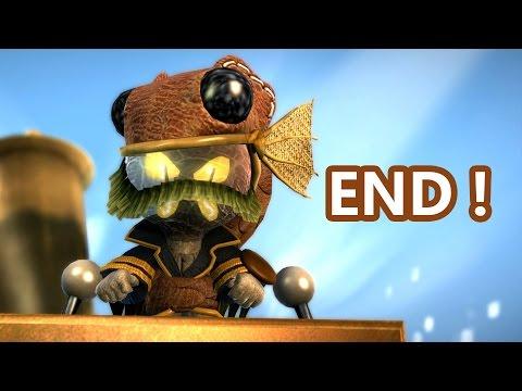 LittleBigPlanet 3 FINAL BOSS ENDING 100 Walkthrough Even Bosses Wear Hats LBP3 PS4