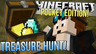 Minecraft Pocket Edition | TREASURE HUNT