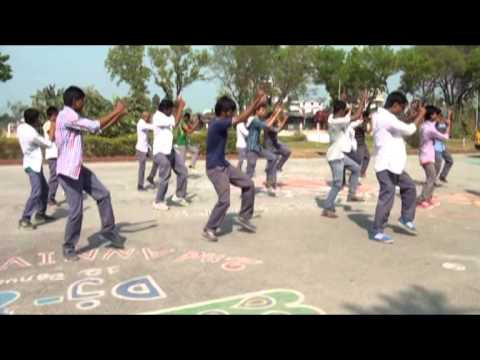 ICC World T20 Bangladesh 2014, Flash MOB- Dinajpur Gov't College [Official]