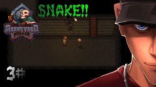 Graveyard Keeper Alpha Finding Snake! Gate key? part 3 | Let's Play Graveyard Keeper Gameplay