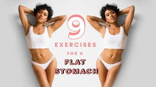 9 Exercises For a Flat Stomach (Summer Body Goals)